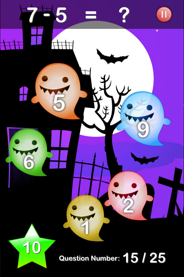 Halloween Maths Free - screenshot 1