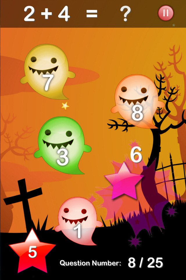 Halloween Maths Free - screenshot 2