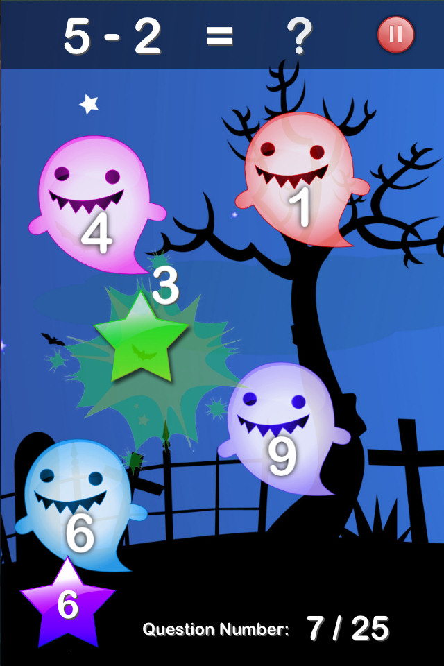 Halloween Maths Free - screenshot 3