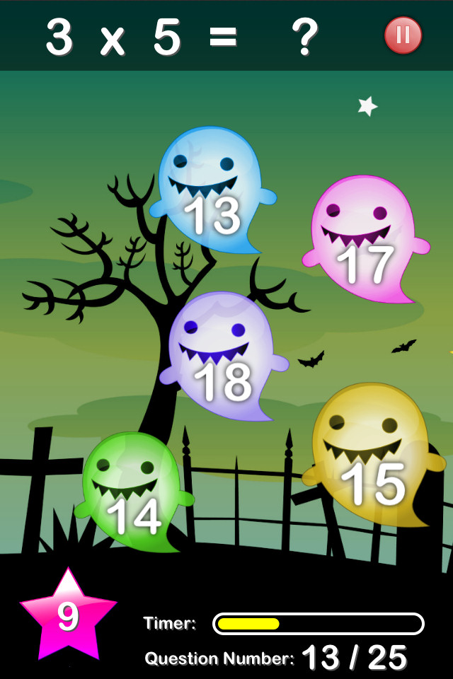 Halloween Maths - screenshot 3