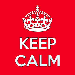 Keep Calm and Carry On - icon