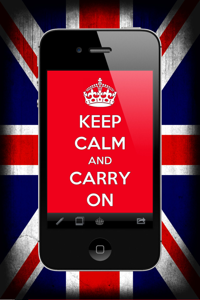 Keep Calm and Carry On - screenshot 1