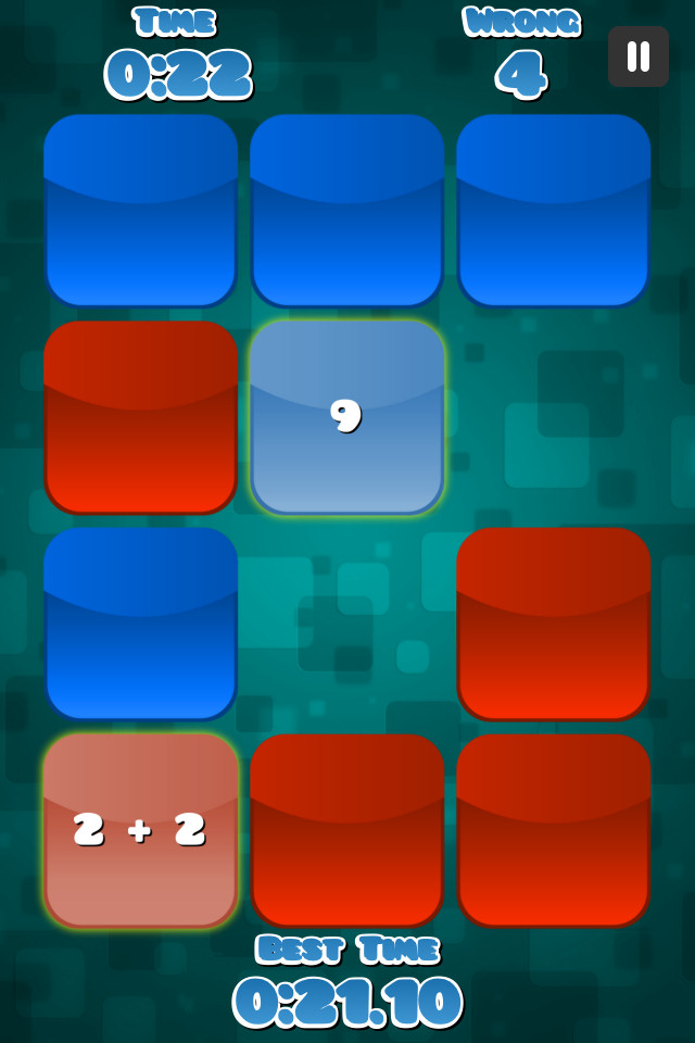 Memory Maths Free - screenshot 1
