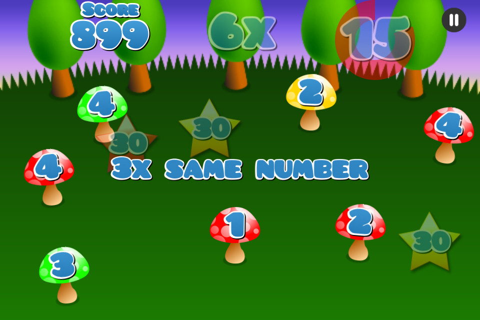 Mushroom Maths Free - screenshot 2