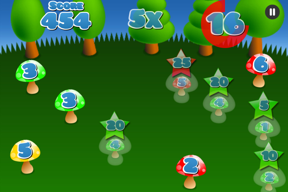 Mushroom Maths Free - screenshot 3