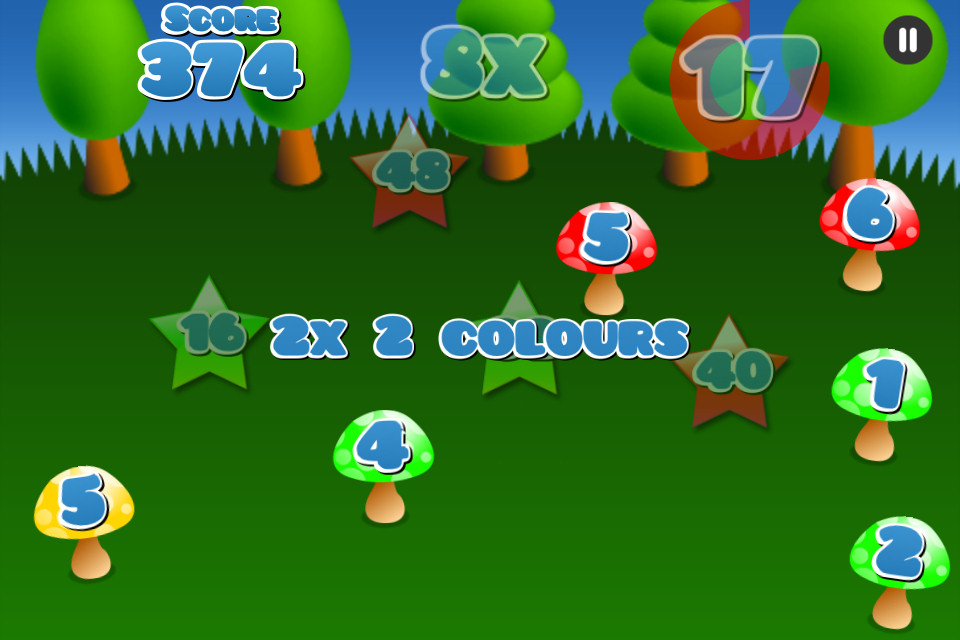 Mushroom Maths Free - screenshot 4