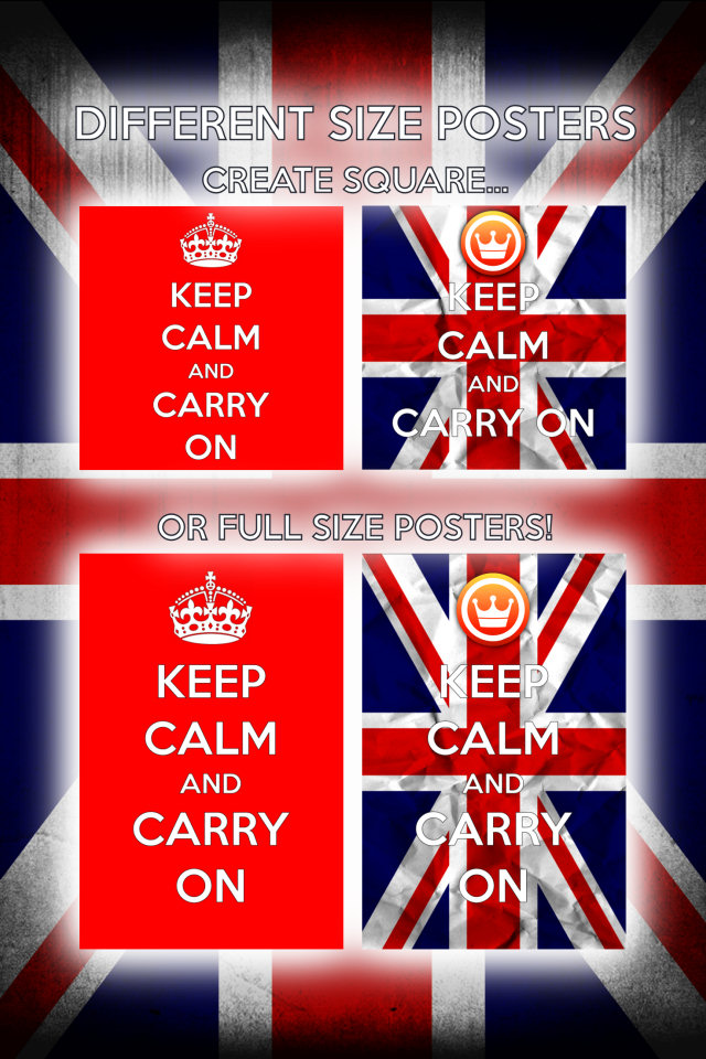 Keep Calm and Carry On - screenshot 4